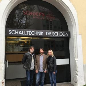 Штаб-квартира компании Schoeps. Helmut Wittel - co-CEO компании Schoeps.